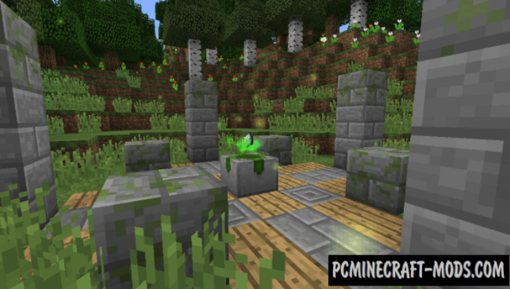 Nature's Aura - Technology Mod For Minecraft 1.16.5, 1.12.2