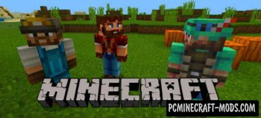 Smart NPC Addon/Mod For Minecraft PE 1.9 iOS, Android