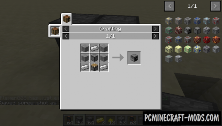 Simple Grinder Mod For Minecraft 1.12.2, 1.11.2