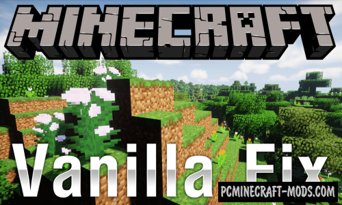 VanillaFix - GUI Tweaks Mod For Minecraft 1.12.2
