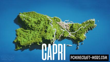 Capri Island Map For Minecraft