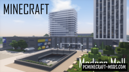 Modern Mall Map For Minecraft