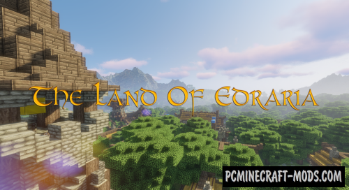 The Land Of Edraria Map For Minecraft