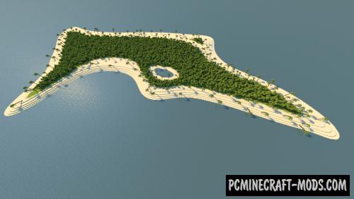Dense Tropics Map For Minecraft
