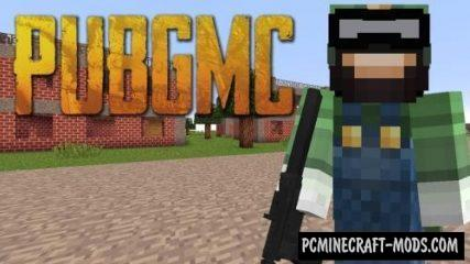 PUBGMC Mod For Minecraft 1.12.2