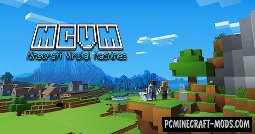 Minecraft Virtual Machines Mod For Minecraft 1.12.2