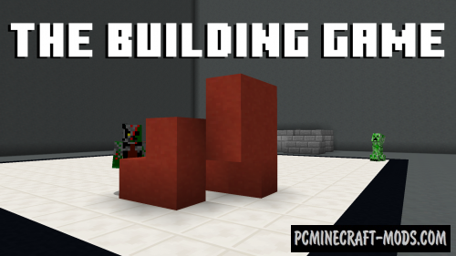 The Building Game Map For Minecraft