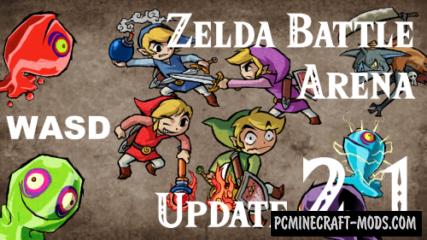 Zelda Battle Arena Map For Minecraft