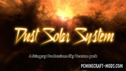 Dust Solar System Resource Pack For Minecraft 1.12.2