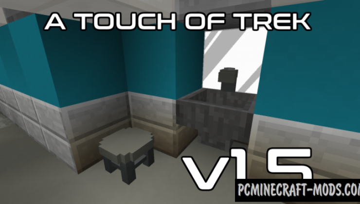 A Touch of Trek Resource Pack For Minecraft 1.12.2