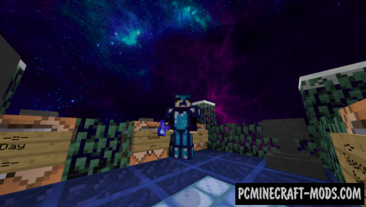 HD Galaxy Default Resource Pack For Minecraft 1.13.2