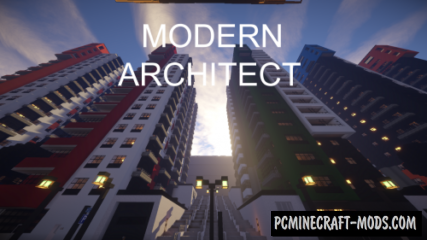 Modern Architect 512x Texture Pack Minecraft 1.16.4, 1.16.3