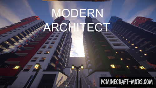 Modern Architect 512x Texture Pack Minecraft 1.16.5, 1.16.4