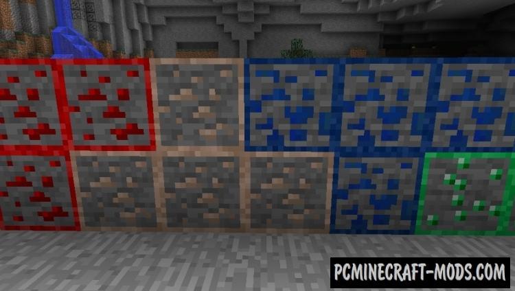 minecraft pe ore finder texture pack