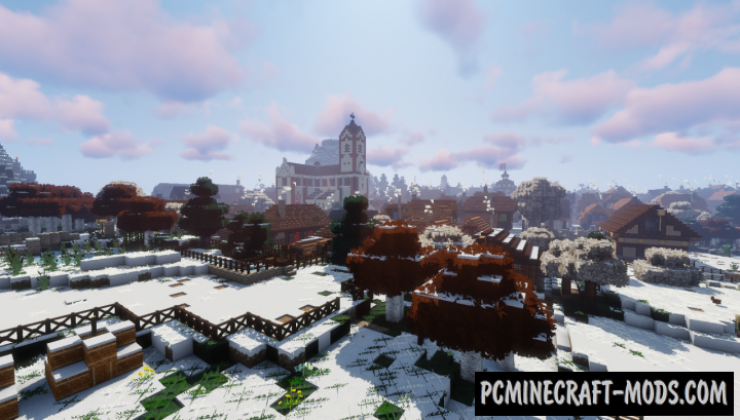 Winthor Winter Resource Pack For Minecraft 1.13.2, 1.12.2