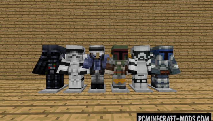 Luke's Star Wars Galaxies Mod For Minecraft 1.12.2