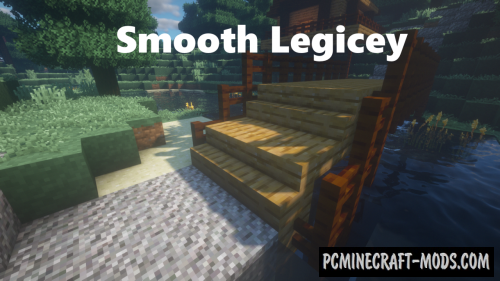 Smooth Legicey Resource Pack For Minecraft 1.12.2