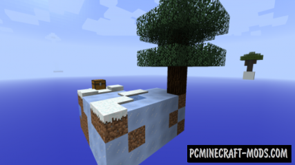 New Year Sky Block Map For Minecraft