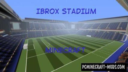 Ibrox Stadium Map For Minecraft