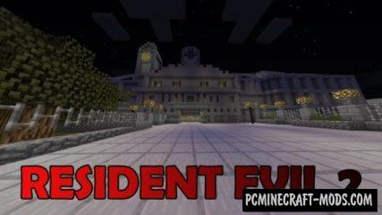 Resident Evil 2 Map For Minecraft