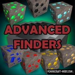 Advanced Finders - Tool Mod Minecraft 1.16.5, 1.16.4, 1.12.2