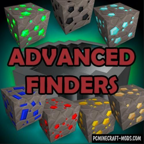 Advanced Finders - Tool Mod Minecraft 1.16.1, 1.15.2, 1.14.4
