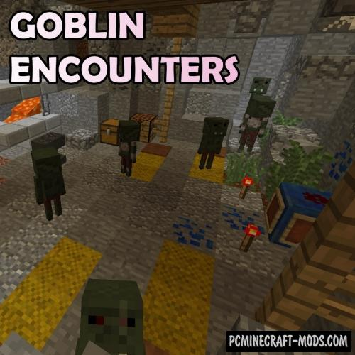 Goblin Encounters Mod For Minecraft 1.12.2