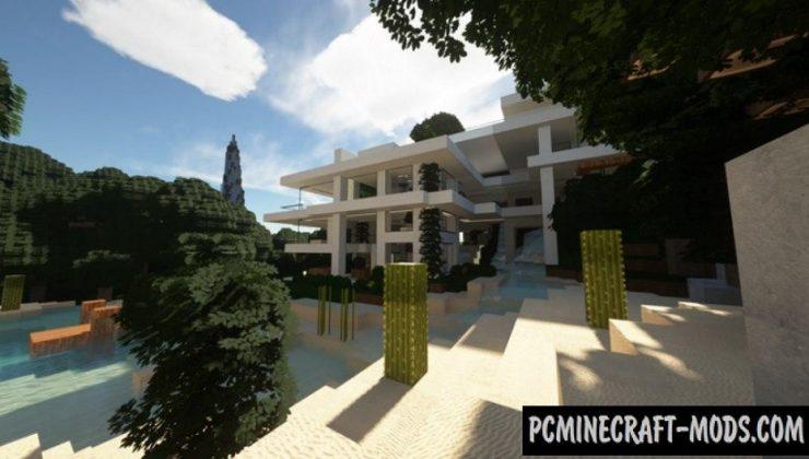 Modern Architect 512x Texture Pack Minecraft 1.16.5, 1.16.4