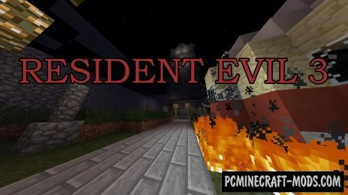 Resident Evil 3 Map For Minecraft