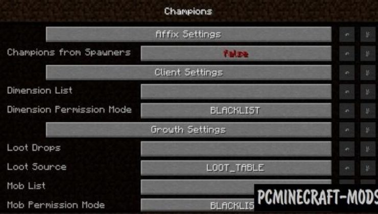 Champions - New Hard Mobs Mod For Minecraft 1.12.2