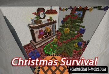 Christmas Survival Map For Minecraft