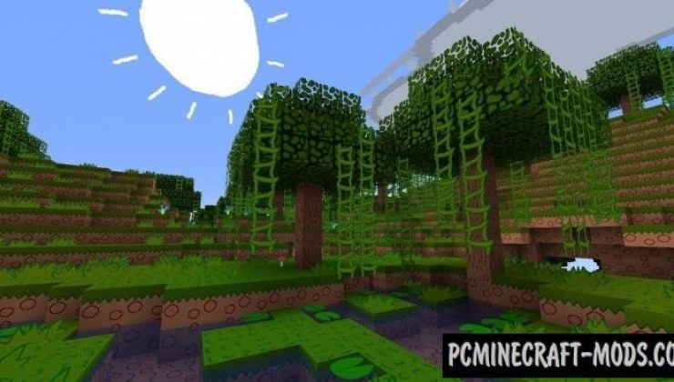 MS Painted Resource Pack For Minecraft 1.13.2