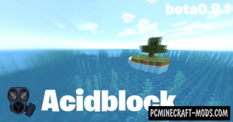 Acidblock Map For Minecraft