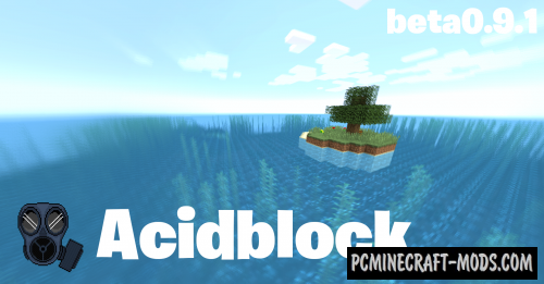 Acidblock Map For Minecraft