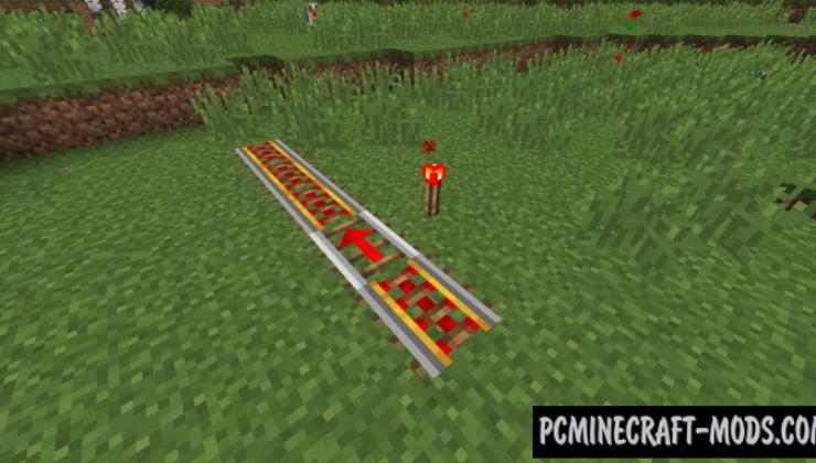 Useful Railroads - Blocks Mod For Minecraft 1.16.5, 1.12.2