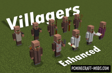 Villagers Enhanced Resource Pack For Minecraft 1.13.2