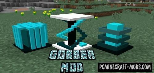 Gobber 2 - New Armor, Blocks, Tools MC Mod 1.16.5, 1.12.2