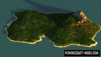 Creator's Island Map For Minecraft