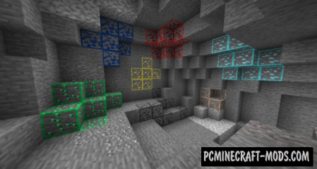 Ore Highlighter Resource Pack For Minecraft 1.12.2