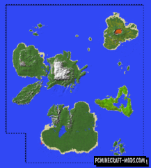 The Islands of Attlepawa Map For Minecraft