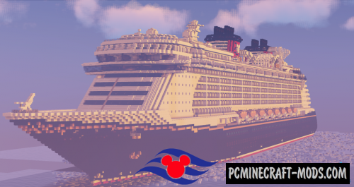 Disney Fantasy Map For Minecraft 1.14.4, 1.14.3 | PC Java Mods on