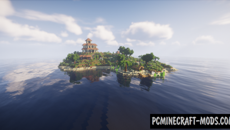 Lone Island Map For Minecraft