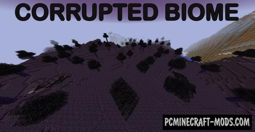 Corrupted Biome Mod For Minecraft 1.12.2