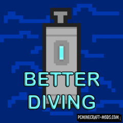 Better Diving Mod For Minecraft 1.12.2