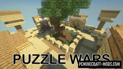 Puzzle Wars Map For Minecraft