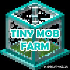 Tiny Mob Farm - Mini Block Mod For Minecraft 1.16.5, 1.12.2
