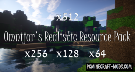 OmniJar's Realistic Resource Pack For Minecraft 1.13.2