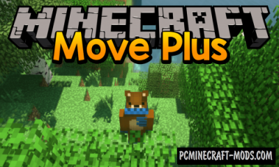 Move Plus Mod For Minecraft 1.12.2, 1.7.10