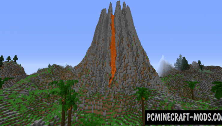 Tropical Island Map For Minecraft