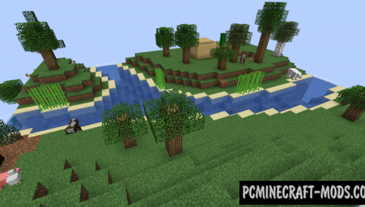 Planet Earth Survival Map For Minecraft